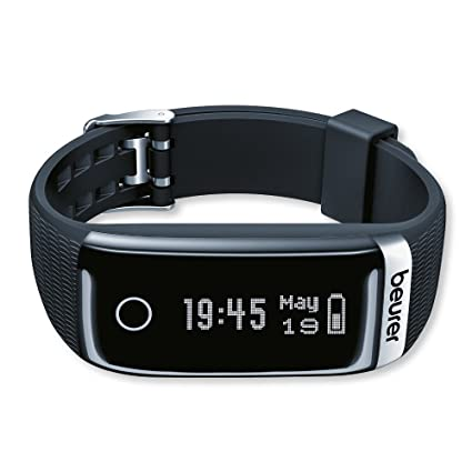 Beurer AS87 Sensor de Actividad física, Unisex, Negro, Talla única