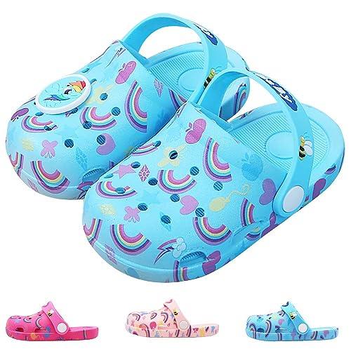 5a4ebc485a17 Kids Boys Girls Comfort Unicorn Sandals Lightweight Slip On Water Shoes  Pool Garden Clogs Cute Summer