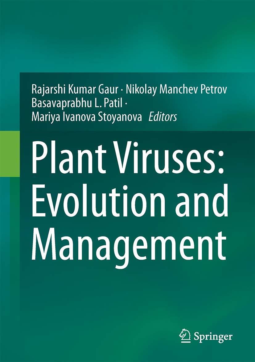 Plant Viruses: Evolution and Management: Amazon.es: Gaur, Rajarshi Kumar, Petrov, Nikolay Manchev, Patil, Basavaprabhu L.: Libros en idiomas extranjeros
