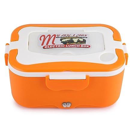 Angort Qiilu Calefacción Lunch Box, 1.5L Portátil 12V / 24V Coche ...