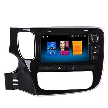 ZWNAV 8 pulgadas Reproductor de DVD de coche GPS navegación para Mitsubishi Outlander 2014 2015 2016