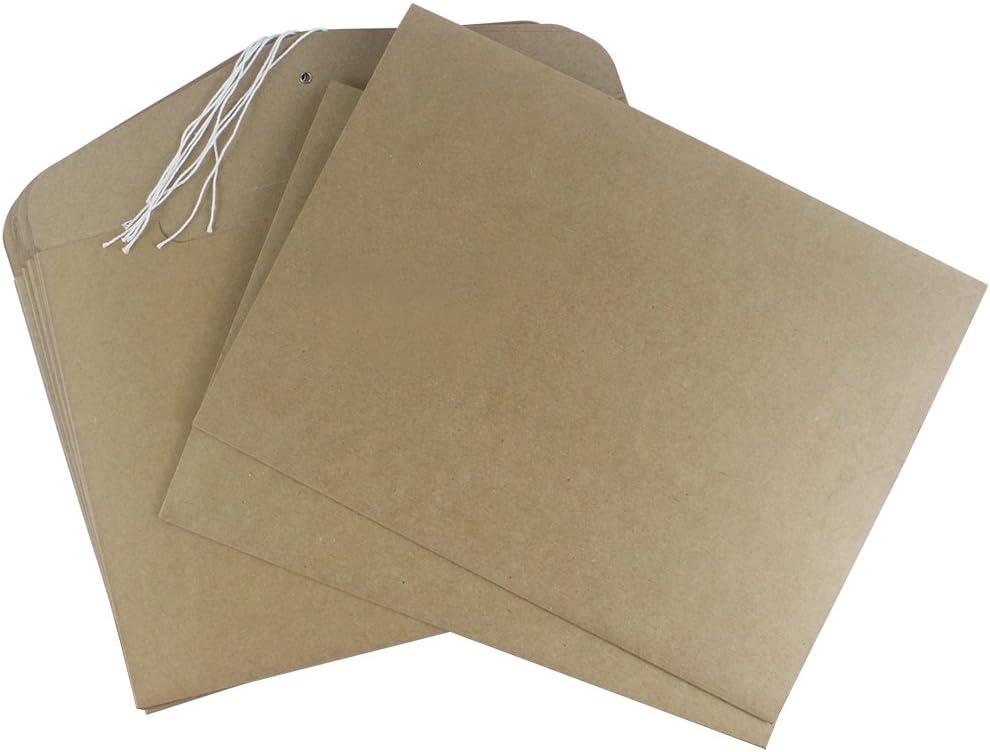 confezione da 50/pezzi Cartellina portadocumenti Pryse 1260001 colore carta Kraft formato A4