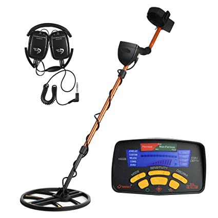TIANXUN Professional High Sensitivity Underground Metal Detector Gold Digger Jewelry Hunting Treasure Search LCD Display Bigger