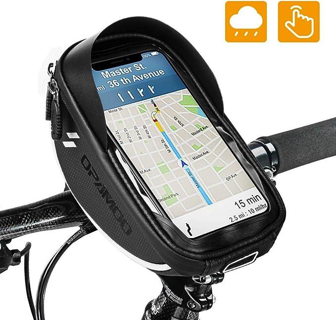Cool Change Bike Front Frame Bag Cycling Bicycle Phone Bag Bike Top Tube Bag Phone Case Holder Sports Outdoors Bike Racks Bags
