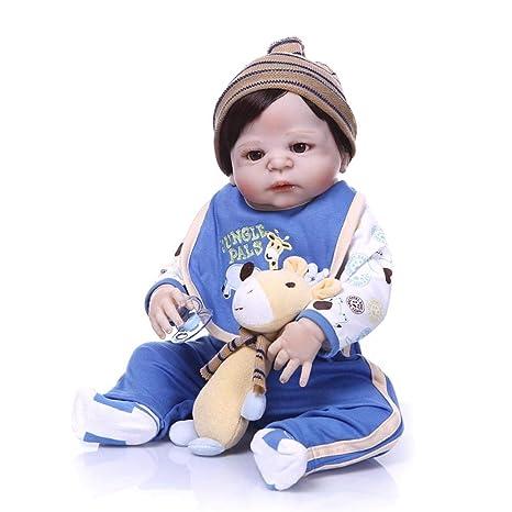 Muñeca realista Reborn Baby Doll, ropa de jirafa para bebé ...