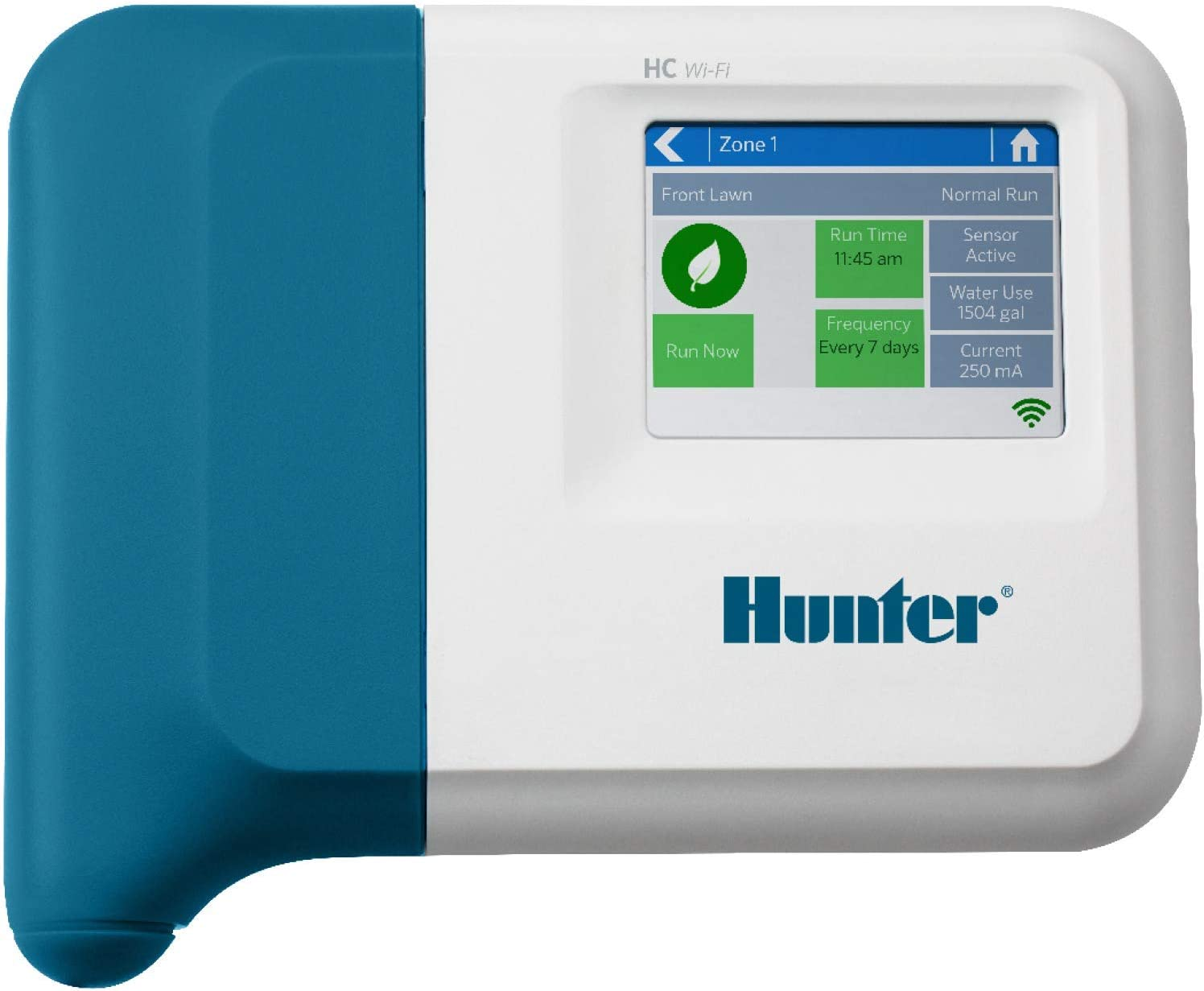 Hunter Industries HC600I Hydrawise HC 6-Station Indoor Irrigation Controller, Gray