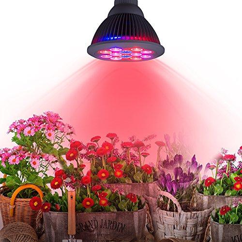 TaoTronics 24w Led Grow Light Bulb , Grow Plant Light For