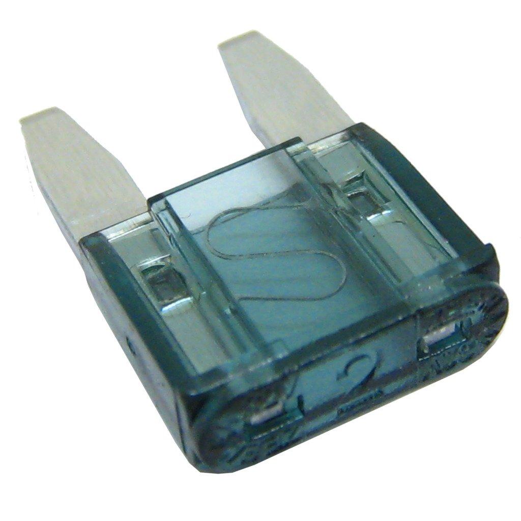 All Trade Direct 100 x 2 Amp mini fusibles de cuchilla para coche ...