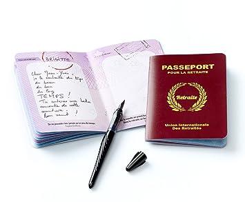 Livre D Or Passeport Pour La Retraite