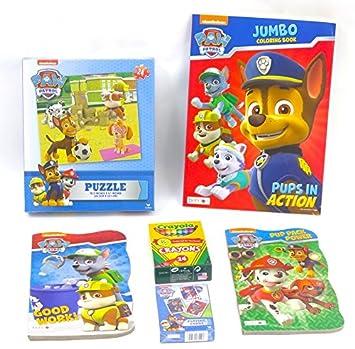 Paw Patrol - Set de regalo, incluye juego de cartas, luz ...