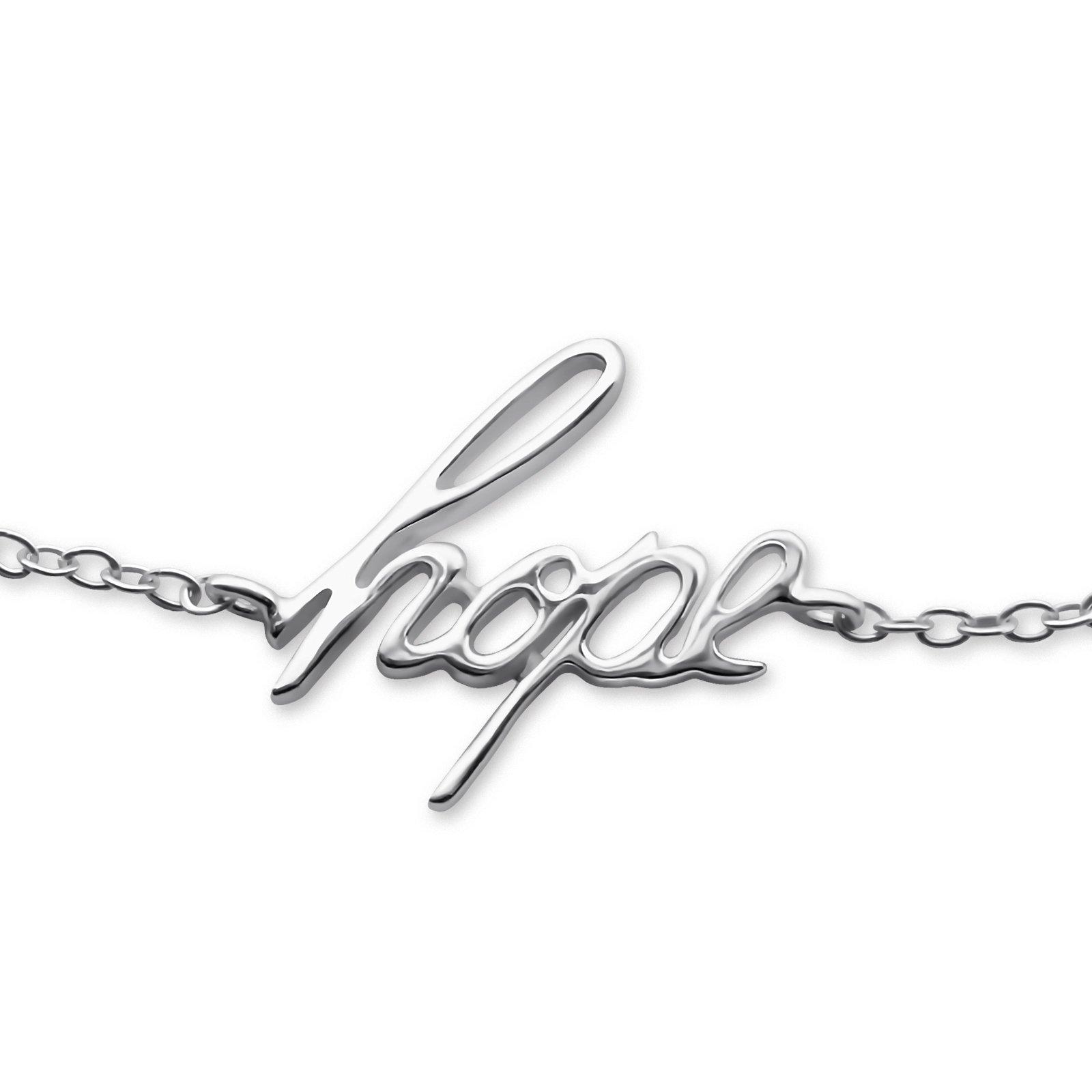 Atik Jewelry Silver Hope Inline Bracelet by Atik Jewelry (Image #1)