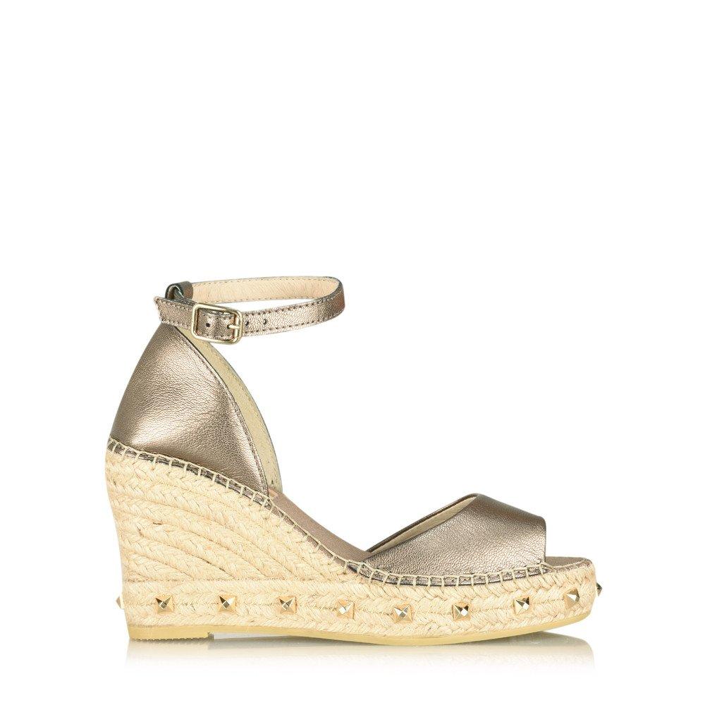 561eb2cc4cf5 Vidorreta abierta napa wedge espadrille topo pewter shoes bags jpg  1000x1000 Vidorreta espadrille wedges