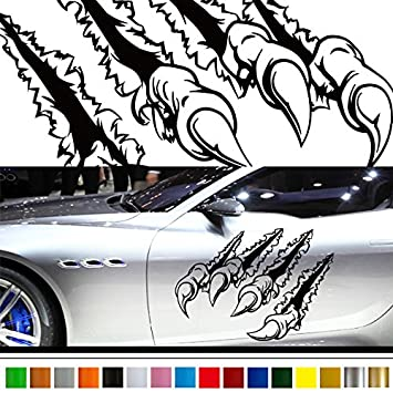Claw car sticker car vinyl side graphics 199 car vinylgraphic custom stickers decals