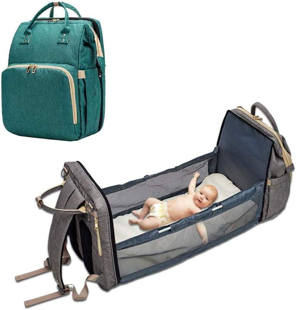ODJOY-FAN Zaino Mamma Multifunzione neonato Fasciatoio Bambino Nylon Mummia borsa grande capacit/à zaino da viaggio marea Borsa per mummia a tracolla multifunzionale new