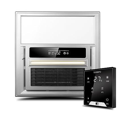 HWF Radiador techo Lámpara de calor multifuncional del cuarto de baño del LED Tres luces de