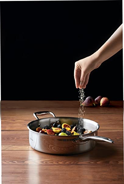 Hammer Stahl 4 Quart, Deep Saute Pan with Cover by Hammer ...