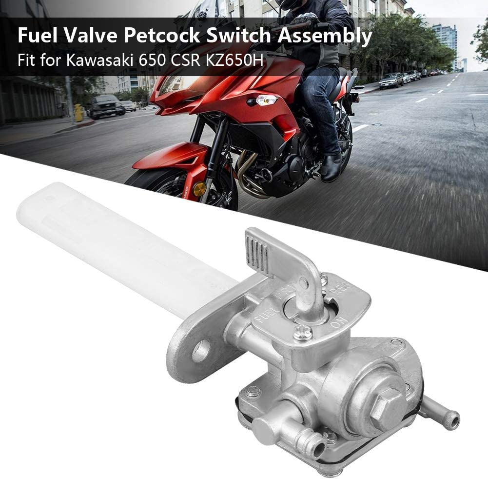Fuel Valve Petcock Assembly For Kawasaki 650 CSR KZ650H #51023-1375