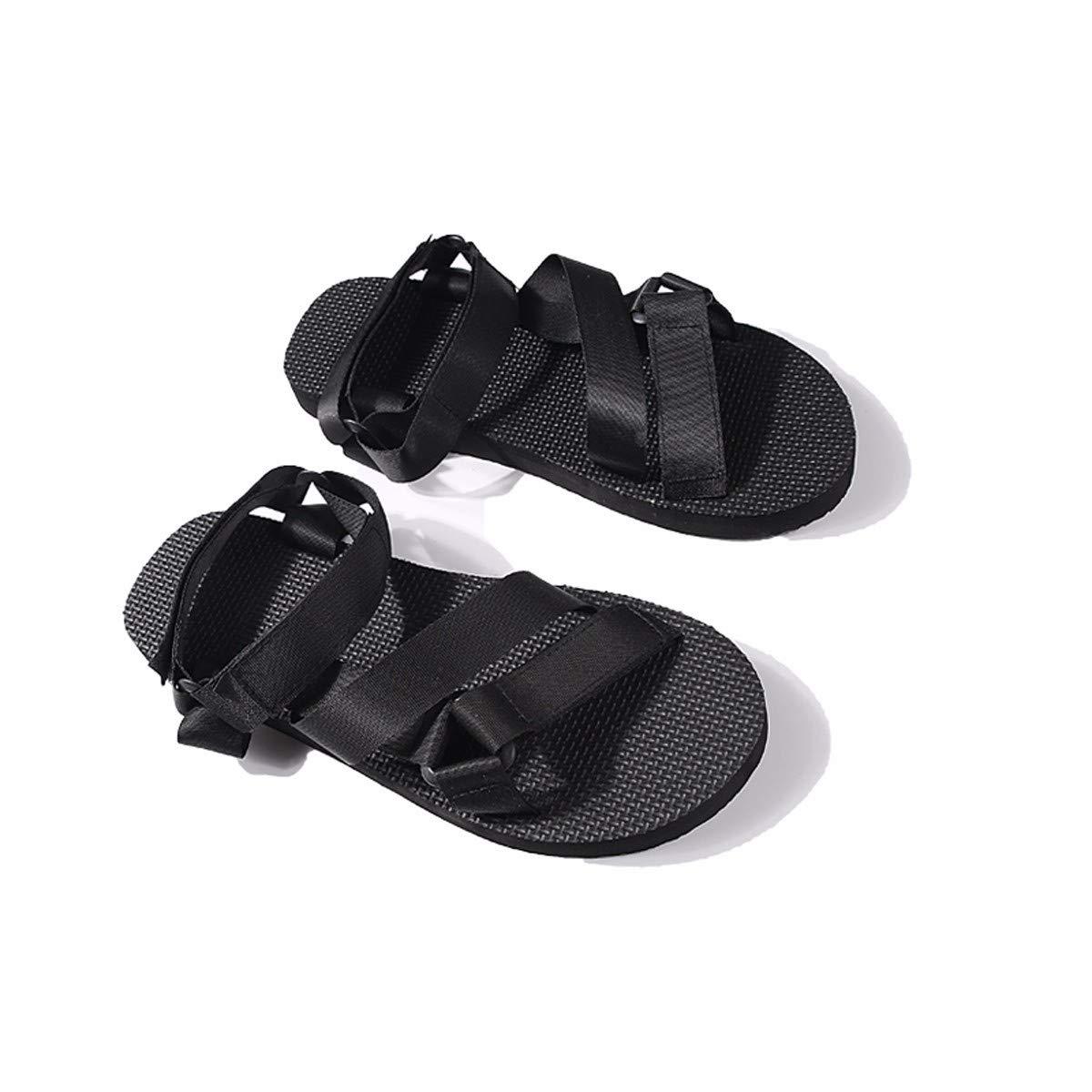 KPHY Chaussures pour Femmes/L'Été des Sandales Les Remorques Les Loisirs Antidérapant Et Pantoufles Chaussures De Plage Les Hommes Quarante - Et - Un Black