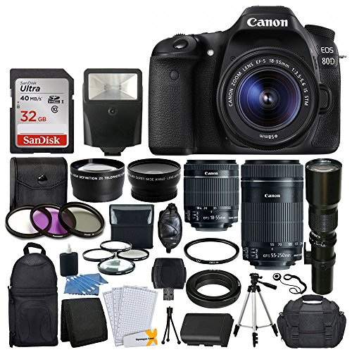 canon-eos-80d-dslr-camera-body-canon-ef-s-18-55mm-canon-ef-s-55-250mm-lens-telephoto-500mm-f-80-long