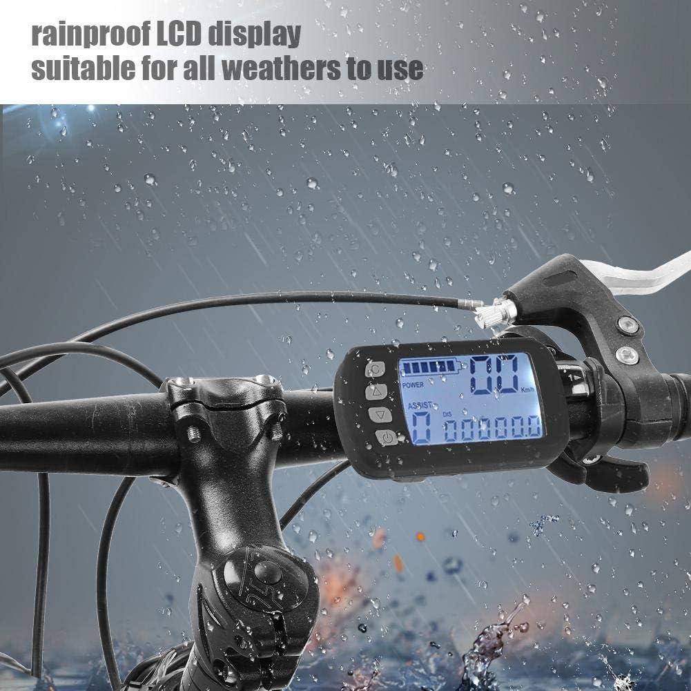 Bicicleta el/éctrica Sin escobillas Controlador del Motor de Velocidad para Bicicleta el/éctrica E-Bike Scooter 350W Controlador sin escobillas 36V 250W Focket 24V