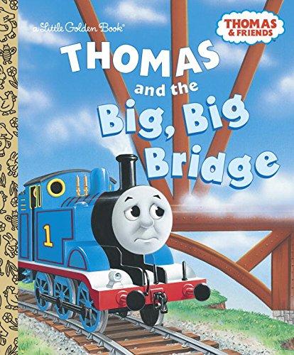 Thomas and the Big Big Bridge (Thomas & Friends) (Little Golden (Big W Books)