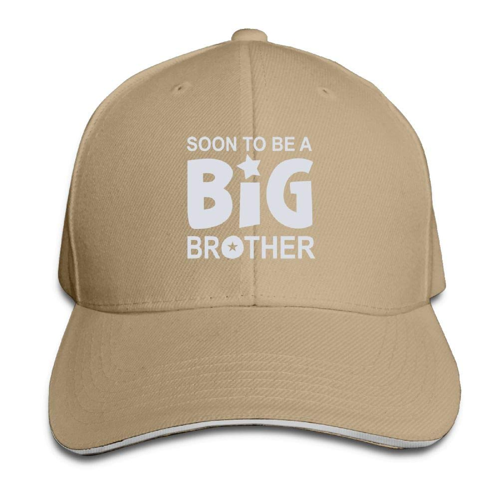 Soon to Be Big Brother Baseball Caps Adjustable Back Strap Flat Hat
