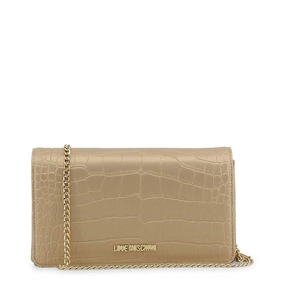 3e2e86c07b6 Love Moschino - JC4159PP16LW Clutch Bag Yellow: Amazon.co.uk: Clothing