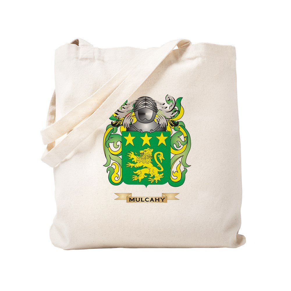 CafePress - Mulcahy Coat Of Arms - Family Crest - Natural Canvas Tote Bag, Cloth Shopping Bag