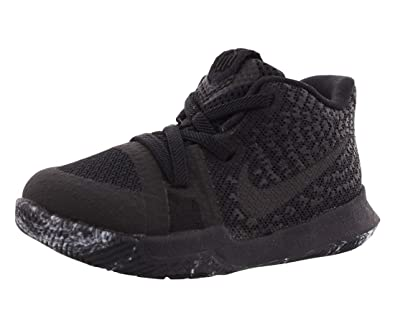 6789ed2fc5ba Image Unavailable. Image not available for. Color  Nike Kyrie 3 Marble  Toddler Boys Shoe Black Black Black ...