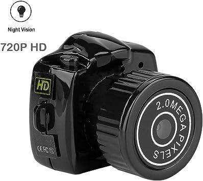 Tosuny Mini HD Cámara, Cámara de Video Digital Micro Oculta de ...