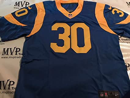 Todd Gurley Throwback Los Angeles Rams Men s Size Medium Jersey at ... 366a1c47f252