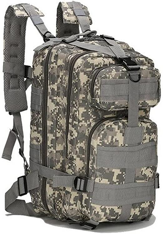 OLEADER Military Tactical Backpack 40L Waterproof Rucksack Large Molle Assault Backpacks with a Waist Bag for Outdoor Trekking Travelling Hiking Camping