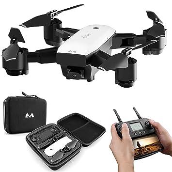 Hotbird Drone con cámara 1080p, 5G WiFi FPV GPS Auto Retorno ...