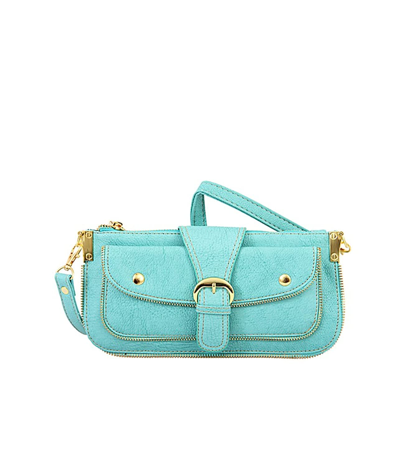 Mellow World Hipster, Women's Zippered Bag comes with detachable wrist strap