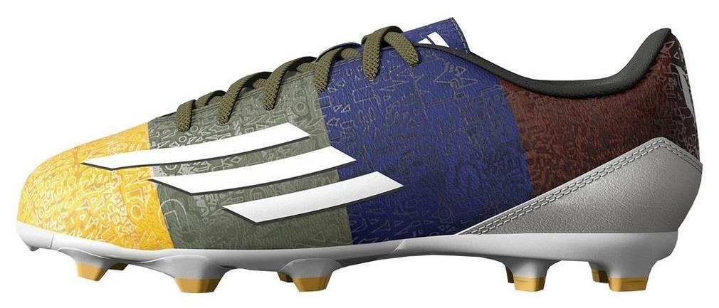 Adidas F10 FG Messi Bota de Fútbol Junior M21765