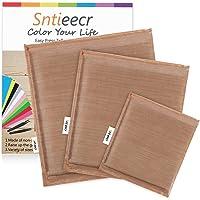 Sntieecr 3 Pack 3 Sizes Heat Press Pillow, Easy Heat Press Mat Heat Pressing Transfer Pillows for Screen Print and Heat…