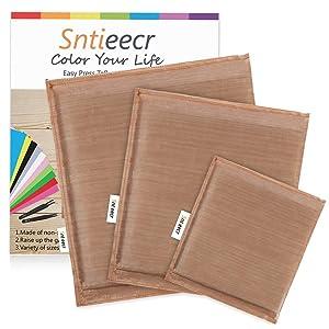 Sntieecr 3 Pack 3 Sizes Heat Press Pillow Heat Pressing Transfer Pillow, Heat Press Mat for Heat Press Digital Transfer