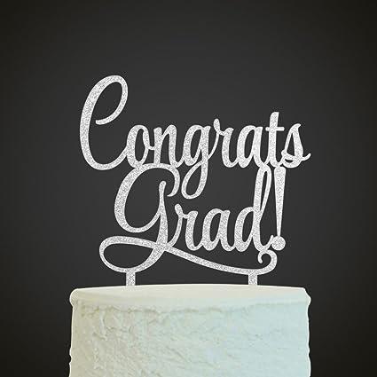 Amazon Com Innoru Congrats Grad Cake Topper 2019 Graduate Party