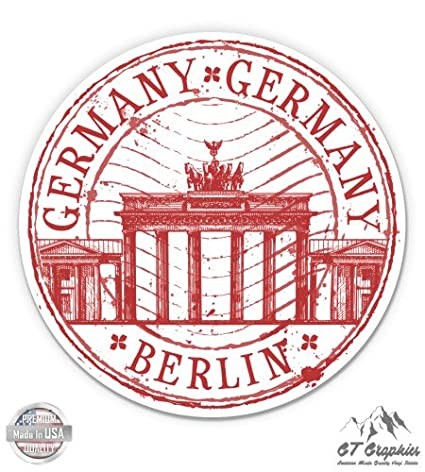 Germany Berlin Travel Stamp