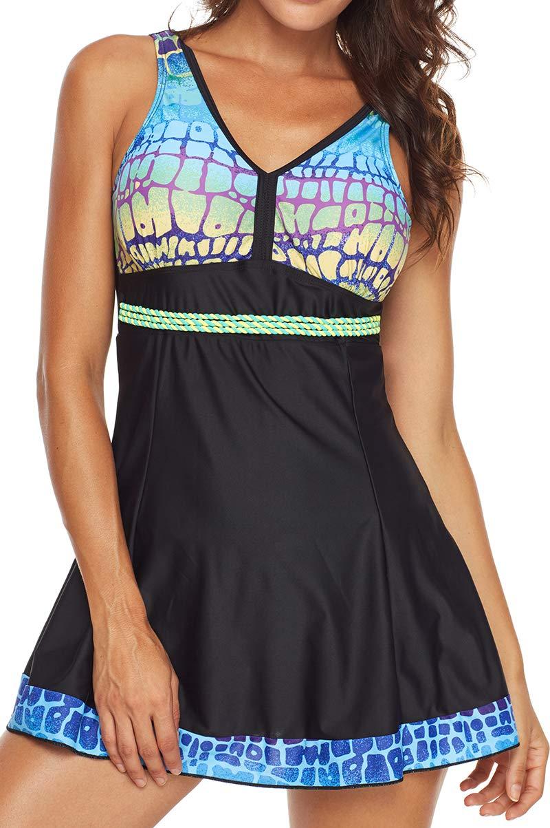 Bettydom Donna Costumi da Bagno Stile Gonna Modello di Ali di Farfalla Vest Spiaggia Mare e Piscina