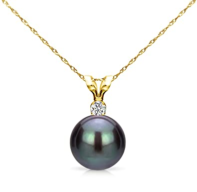 south diamond pendant sea pearl