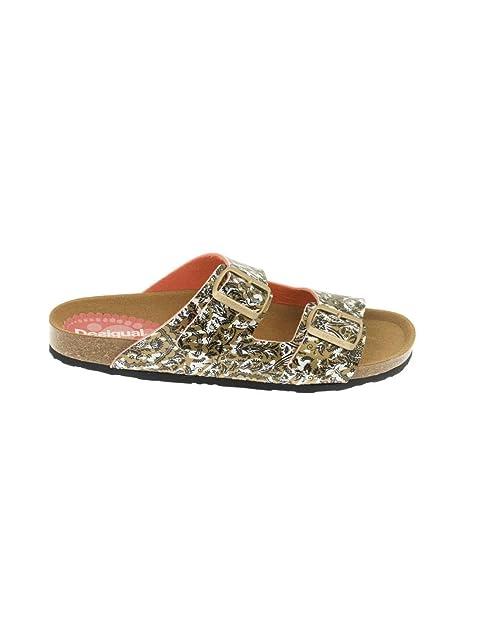 Amazon Sandalia Dorada 2 Bio Save Desigual es Y Zapatos Queen The qSaq1xr