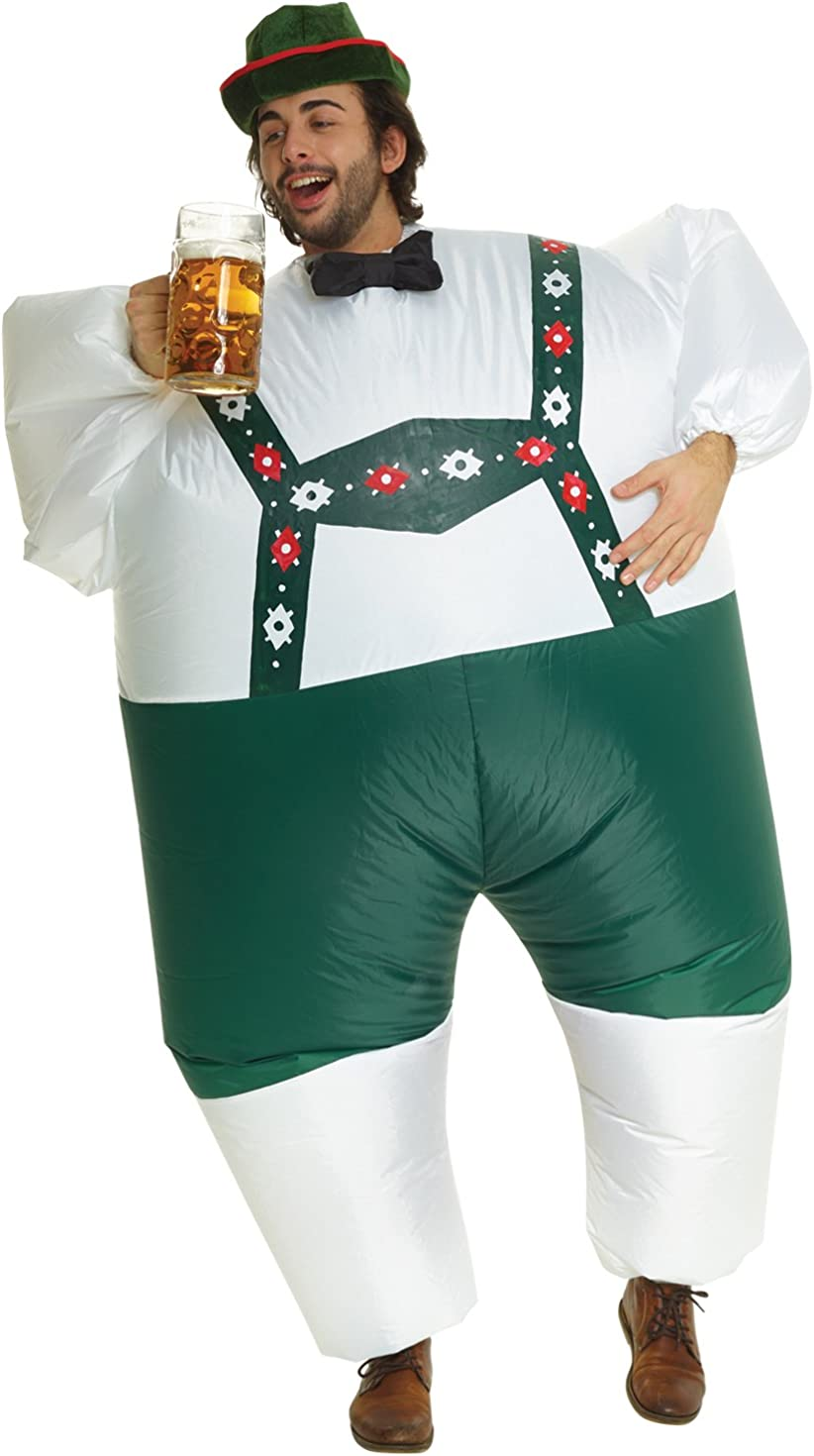 Morph Inflatable Adult & Childrens MegaMorph Fat Suit Costumes - One Size