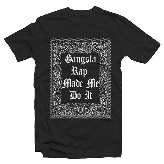 90 S Gangsta Rap Made Me Do It Adult Hip Hop Street Wear Fashion