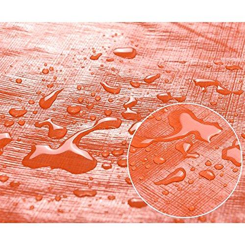 Tarpaulin NAN Tissu de pluie imperméable à l'eau d'épaississement Tissu extérieur de tissu d'ombre de soleil Bâche de voiture (10 * 12m)