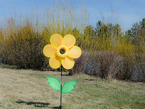 """NEW In the Breeze Sunflower Spinner 19/"""" FREE2DAYSHIP TAXFREE"""