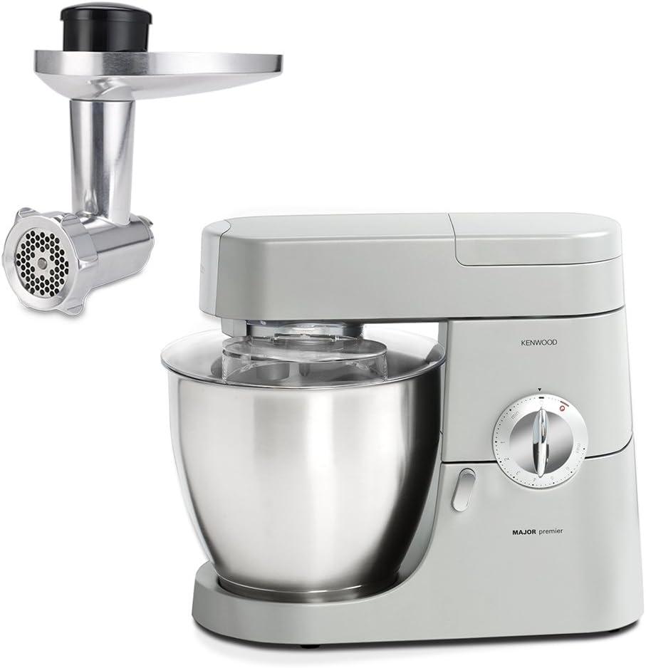 Kenwood 0WKMM77022 Machina de cocina y picadora, 1200 W, 6.7 litros, plateado: Amazon.es: Hogar
