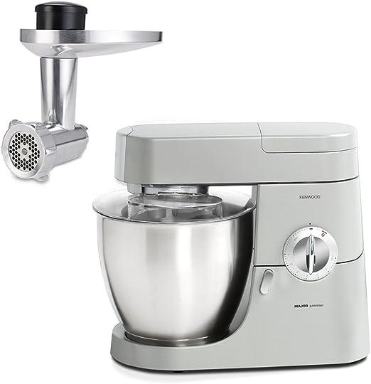 Kenwood 0WKMM77022 Machina de cocina y picadora, 1200 W, 6.7 ...