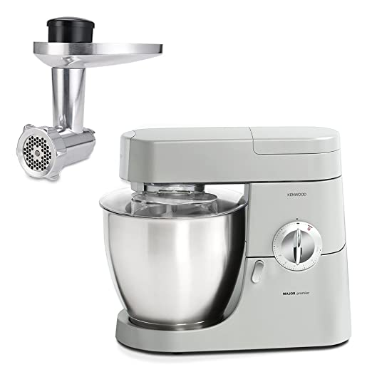 641 opinioni per Kenwood KMM770 Premier Robot da Cucina + AT950 Accessorio Tritacarne