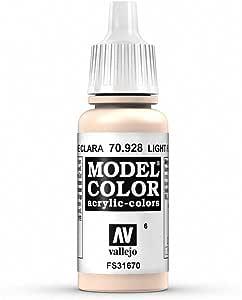 Vallejo Light Flesh Paint, 17ml
